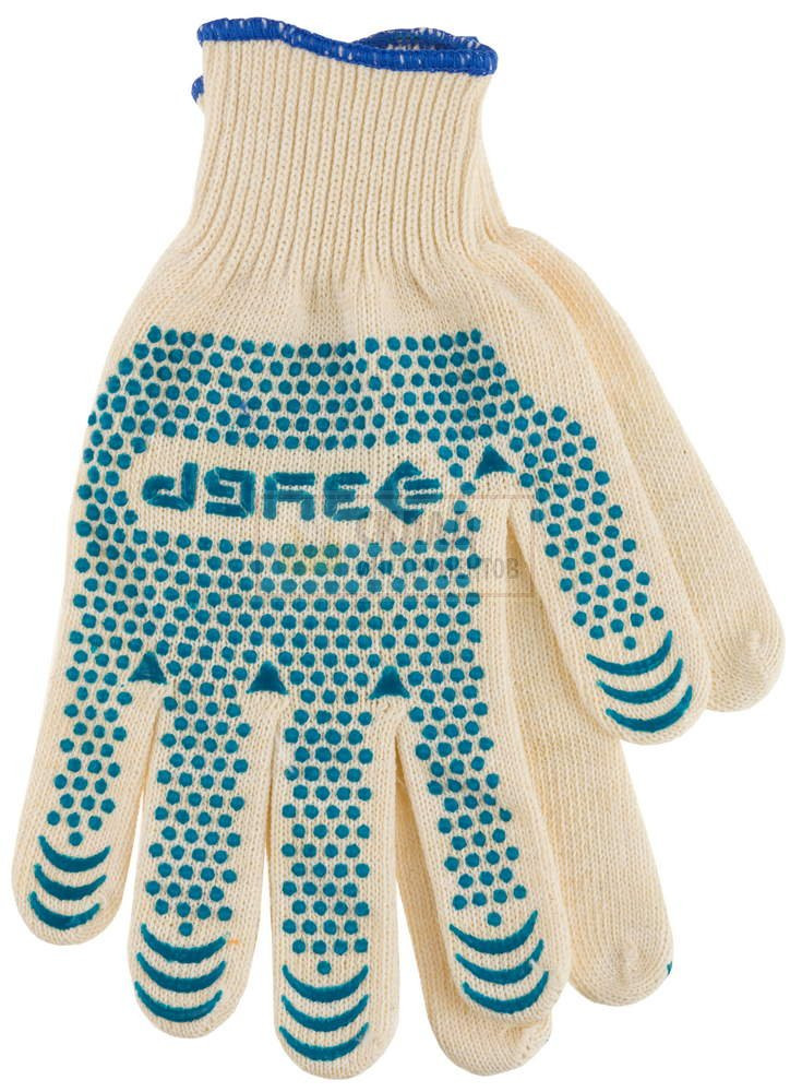"""Перчатки трикотажные с защитой от скольжения """"Эксперт"""" S"""