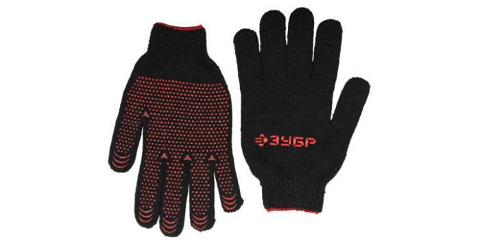"""Перчатки трикотажные утепленные с защитой от скольжения """"Мастер"""" XL"""