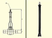 Монтажный набор для шаровых кранов BS d32-50/0,6-1,0