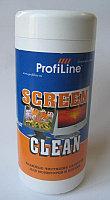 Screen clean tube (салфетки для экранов и оптики влажные) 100 штук ProfilLine