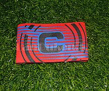 Футбольная капитанская повязка красный