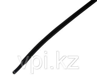 Термоусадочная трубка - черная 4/2мм 1м REXANT