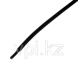 Термоусадочная трубка - черная 30/15мм 1м REXANT