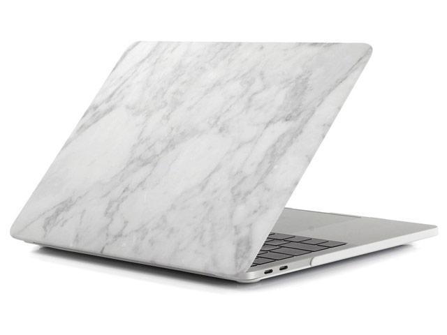 Пластиковый чехол для MacBook Pro 13'' 2017 A1708 (светло-серый камень)