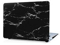 Пластиковый чехол для MacBook Pro 13'' 2017 A1708 (черный камень, пластиковый), фото 1