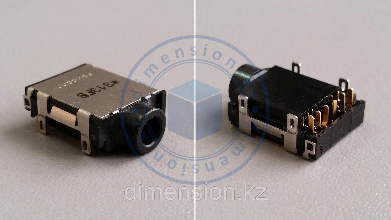 Черный AUDIO разъем, порт для материнских плат DA0HK1MB6E0 MBX-247 для SONY Vaio VPCEH2E1R PCG-71912V