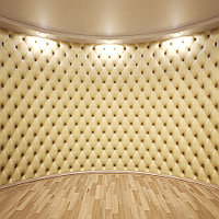 Мягкая обивка, отделка, стяжка стен