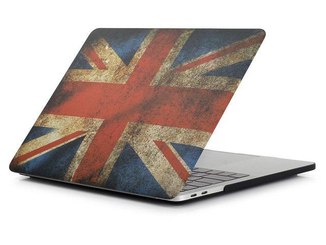 Пластиковый чехол для MacBook Pro 15'' 2017 A1707 (Великобритания)