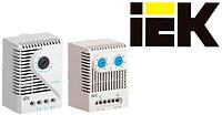 IEK. Термостаты и гигростаты для климатконтроля