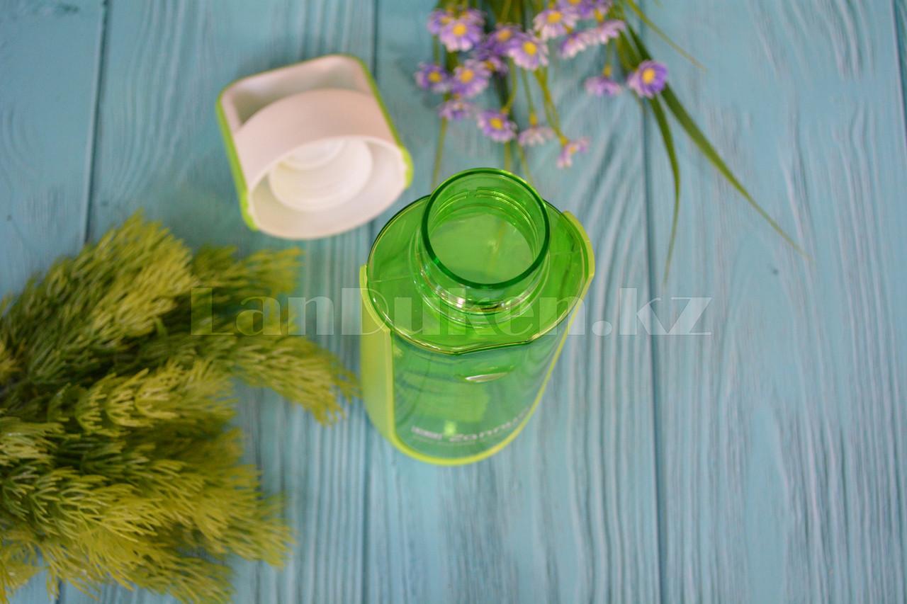 Бутылочка для воды ZANNUO 580 мл, емкость для воды зеленая - фото 2