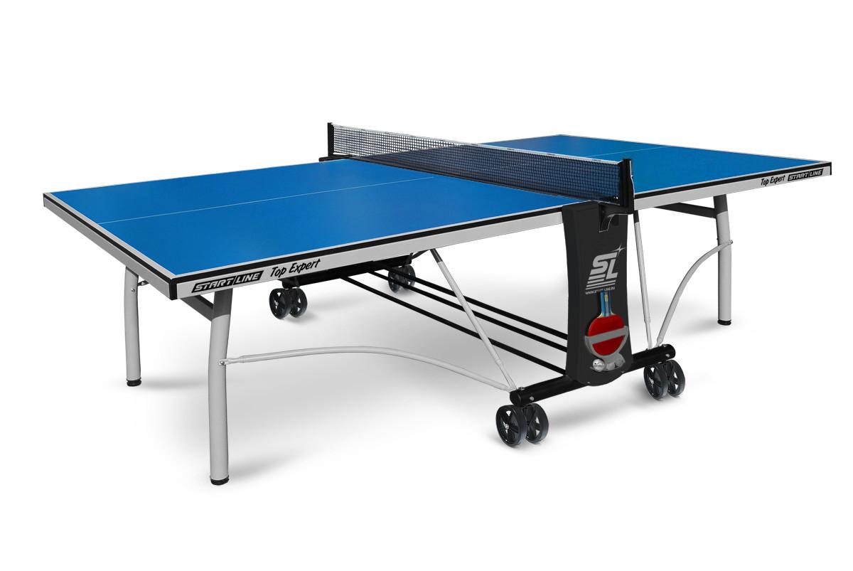 Всепогодный теннисный стол Start Line Top Expert Outdoor. с сеткой