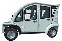 Пассажирский кар закрытого типа 4-х местный EG6043K