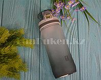 Бутылочка для воды Plastic Bottle 500 мл емкость для воды Серый