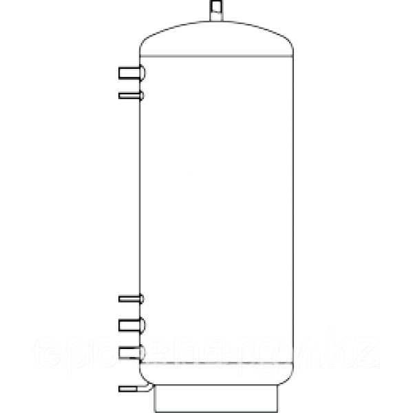 Бак ВТА-4-ЭКОНОМ, 4000 л