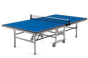 Теннисный стол Start Line Leader 22 мм, без сетки, обрезинен. ролики, регулируемые опоры