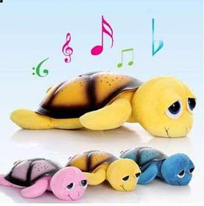 Ночник - проектор Черепаха (желтая), фото 2