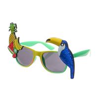 Очки для вечеринки фрукты и тукан