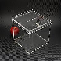 Ящик 20*20*20см для пожертвований, голосований и промоакций, фото 1