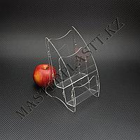 Буклетница двухъярусная А6, подставка для полиграфии