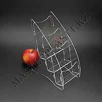 Буклетница трехъярусная А6, подставка для полиграфии