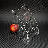 Буклетница трехъярусная А5, подставка для полиграфии