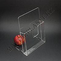 Буклетница квадратная А4, подставка для полиграфии