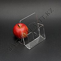 Буклетница квадратная А6, подставка для полиграфии