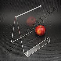 Буклетница L-образная А4, подставка для полиграфии, фото 1