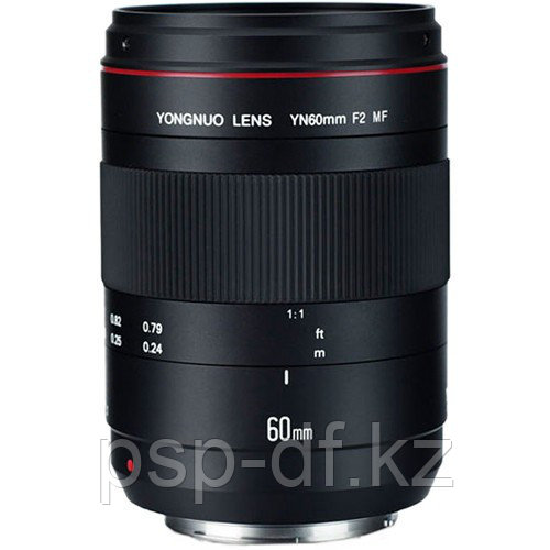 Объектив Yongnuo YN 60mm f/2.0 MF для Canon