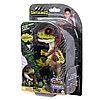 WowWee Fingerlings - DINO 3782M Интерактивный динозавр Стелс (зеленый с фиолетовым) 12 см