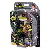 WowWee Fingerlings - DINO 3782M Интерактивный динозавр Стелс (зеленый с фиолетовым) 12 см, фото 1