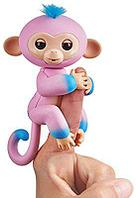 WowWee Fingerlings - Интерактивная ручная обезьянка Candi