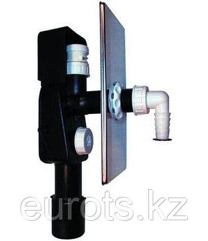 Сифон для скрытой установки, для стиральной или посудомоечной машины с воздушным клапаном