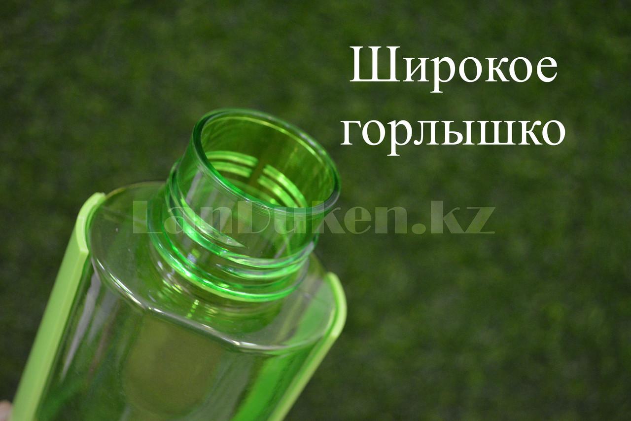 Бутылочка для воды ZANNUO 580 мл, емкость для воды зеленая - фото 6