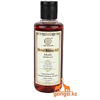 Массажное Масло Сандал без СЛС и Парабенов (Herbal Massage Oil Sandalwood KHADI), 210 мл