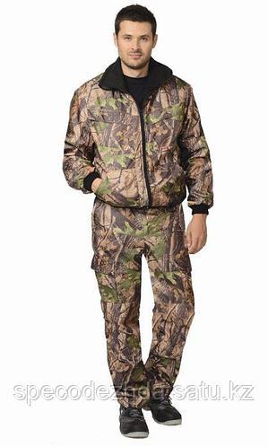 """Костюм """"Пикник"""" демисезон.: куртка, брюки (тк. Оксфорд) КМФ Темный лес для охоты и рыбалки"""