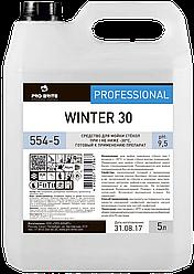 Средство для мойки стекол при температурах не ниже -30°С WINTER 30