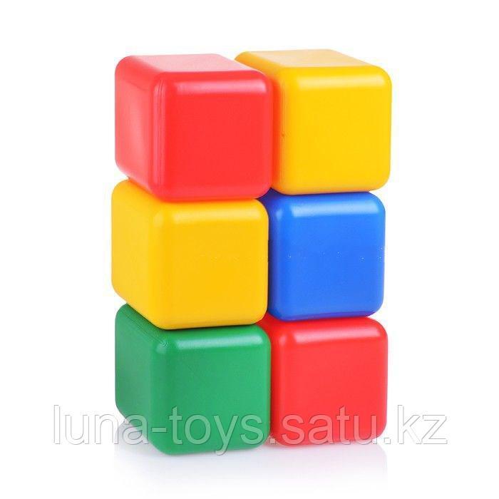 Набор кубиков 12 см, 6 шт