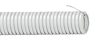 Труба гофр.ПВХ d 16 с зондом (25 м) ИЭК, фото 1