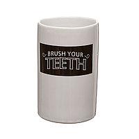 Пластиковый стакан для зубных щеток