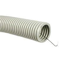 Труба гофр.ПВХ d 50 с зондом (15 м) ИЭК, фото 1