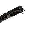 Труба гофр.ПНД d 16 с зондом (10 м) IEK черный