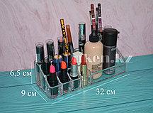 Органайзер для хранения косметики и аксессуаров, подставка для косметики. 210316