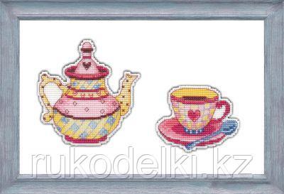 """Набор для вышивания крестом """"Приятного чаепития"""""""