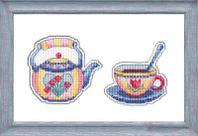 """Набор для вышивания крестом """"Приятного чаепития-2"""""""