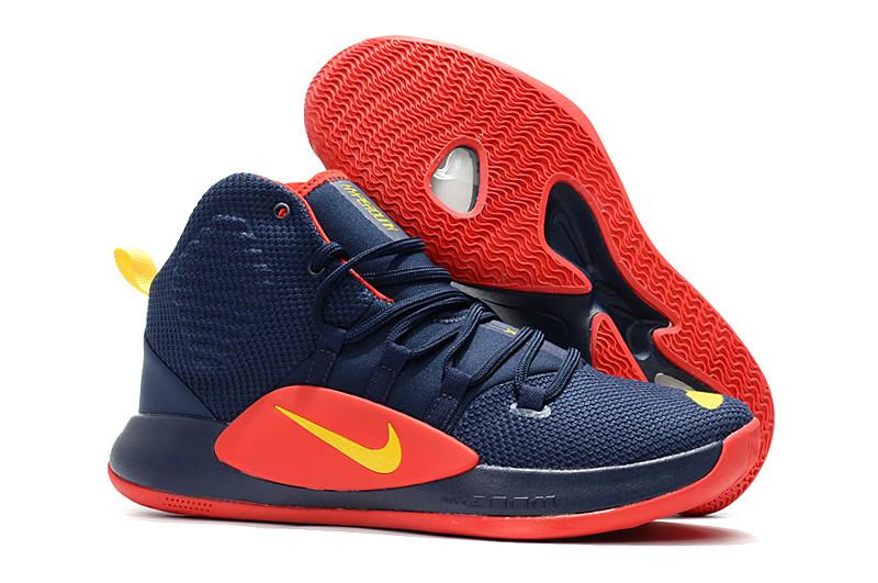 Баскетбольные кроссовки Nike Hyperdunk X 2018 Blue