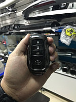 Железный чехол на ключ Camry V55 2014-17 Черный