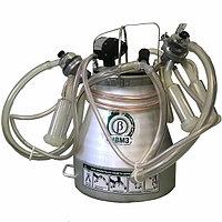 Доильная аппаратура (синхронного доения, алюминиевое ведро) (для доения 2-х лошадей, коз, верблюдов)