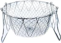 8530 FISSMAN Корзина для жарки во фритюре и бланширования 23 см (сталь)
