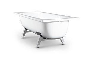 Ванна стальная 1500*700 с ножками (Китай, завод)